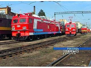 В Локомотивное депо Россоши прибыли новые электровозы