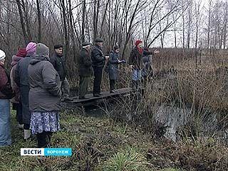 В Масловке не подпускают экологов к расчистке Тавровки