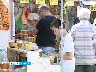 В Медовый Спас для воронежцев заработала ярмарка меда