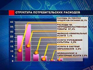 В месяц воронежцы в среднем тратят 9 тысяч 240 рублей