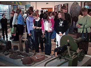 В Музее-диорама поздравляли участниц Великой Отечественной Войны