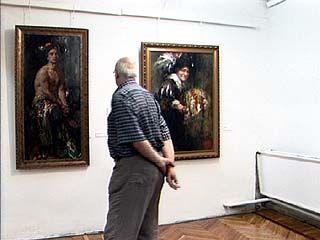 В Музее имени Крамского открылась выставка Николая Блохина