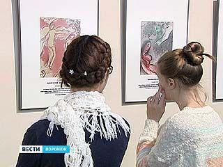 """В Музее Крамского открылась выставка """"Библейские сюжеты"""" Марка Шагала"""