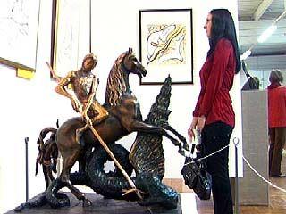 В музее Крамского представлена экспозиция Сальвадора Дали