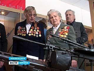 В музее Нововоронежской АЭС открылась экспозиция боевой славы