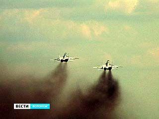 В небе над Бутурлиновкой - воздушные бои