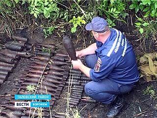 В Никольском до сих пор продолжают находить и уничтожать снаряды времён Великой Отечественной