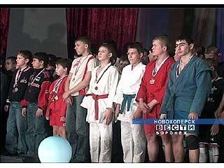 В Новохоперске чествовали начинающих спортсменов