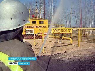 """В Новоусманском филиале """"Воронежоблгаза"""" прошли тактические учения"""