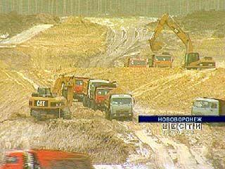 В Нововоронеже готовят основание под реактор новой атомной станции