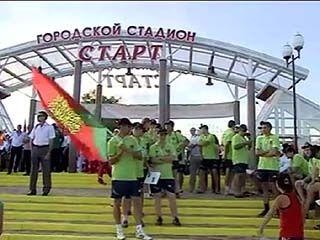 В Нововоронеже состоялось открытие финальных соревнований десятых Всероссийских сельских игр