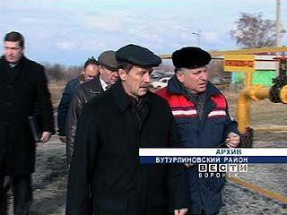 В новой газовой котельной в Бутурлиновке проведен пробный пуск тепла