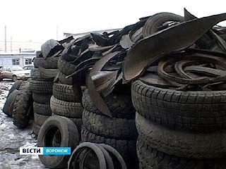 В области может появиться завод по переработке автомобильных шин
