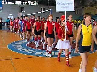 В области начались финальные соревнования 20 спартакиады
