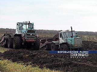 В области ведется борьба с эрозией почв