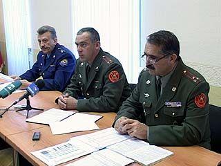 В областном военкомате журналистам рассказали о новшествах призывной кампании