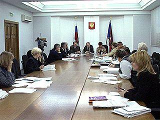 В областной администрации идет формирование бюджета