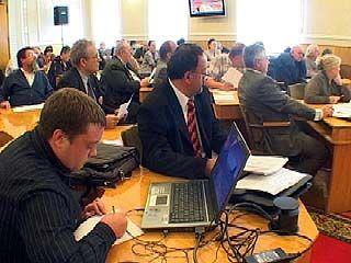 В областной администрации прошёл совет Общественной палаты