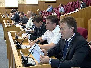 В облдуме прошло срочное заседание по внесению поправок в бюджет области