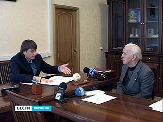 В общественной приемной на вопросы воронежцев отвечал депутат Госдумы Сергей Чижов