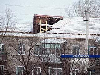 В одном из домов Грибановки живут без крыши