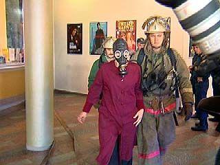 В одном из кинотеатров Воронежа провели пожарные учения