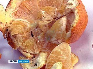 В одной из крупных воронежских торговых сетей продавали апельсины с насекомыми