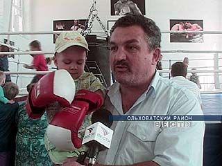 В Ольховатке открылась школа бокса
