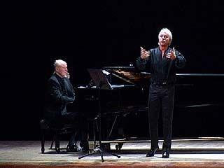 В Оперном театре состоялся концерт Дмитрия Хворостовского