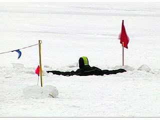 В Острогожске две школьницы провалились под лед