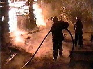 В Острогожске сгорел жилой дом