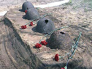 В Острогожском районе состоялась церемония торжественного перезахоронения