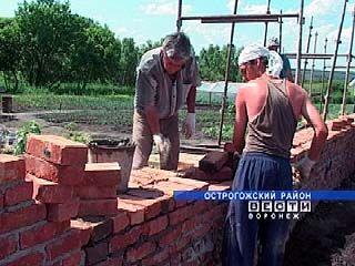 В Острогожском районе строится Православный наркологический центр