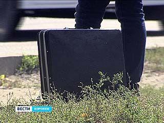 В пассажирском автобусе обнаружили подозрительный чемодан