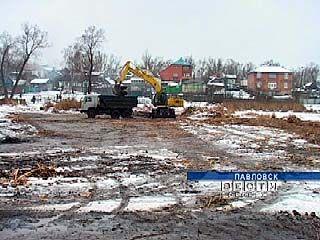 В Павловске решили привести в порядок городское озеро