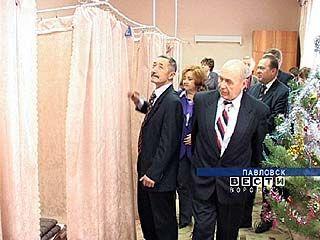 В Павловске состоялось выездное заседание управления здравоохранения