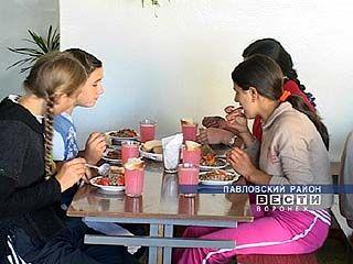 В павловских школах организовано горячее питание