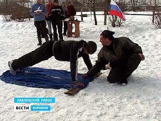 В Павловском детском конноспортивном клубе проходят состязания жокеев