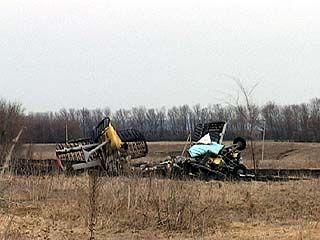 В Павловском районе разбился самолет АН-2
