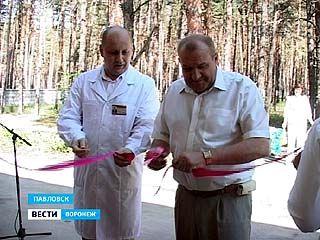 В Павловской ЦРБ открылось отремонтированное детское отделение