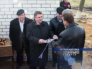 В Петропавловском районе открылся пункт обслуживания потребителей газа