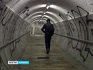 """В подземном переходе у """"Детского мира"""" устанавливали камеры видеонаблюдения"""