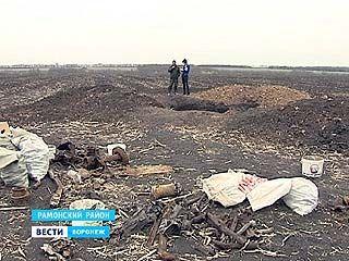 В поле у села Лебяжье нашли самолёт времен Великой Отечественной Войны