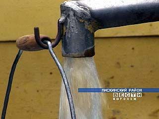В поселке Малышево, о котором мы рассказывали вчера, сегодня появилась вода