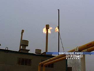 В поселке Новый зажегся газовый факел