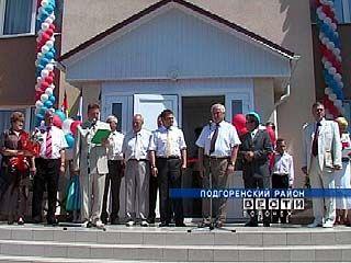 В поселке Сагуны состоялось открытие Дома культуры