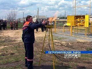 """В поселок """"Южный"""" на окраине Петропавловки пришел газ"""