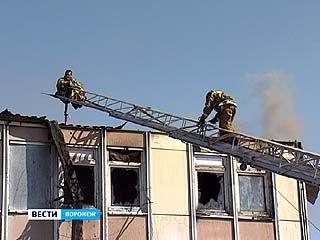 В посёлке Шилово сгорел двадцатиквартирный жилой дом