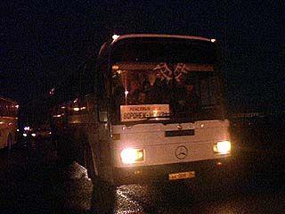 В Поворинском районе на трассе М6 сломался пассажирский автобус
