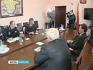 """В правительстве области обсудили развитие программы """"Безопасный город"""""""